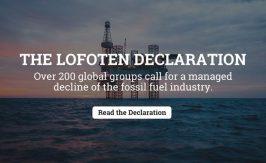 Lofoten Declaration poster